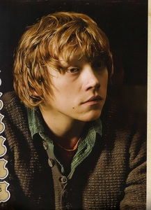 Rupert Grint (he's my only crush) He's just so funny and atractive and sweet