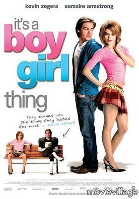 """It's a boy girl thing"" 