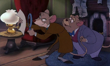 Basil of Baker strada, via and Dr.Dawson. My preferito pair as anthromorphic mice.