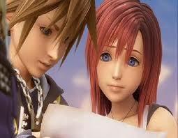 I think either Kairi atau Sora from the Kingdom Hearts series Kairi and Sora cause I act like them and I'm a girl so I didn't just wanna be like a boy. Sora= Boy Kairi= Girl