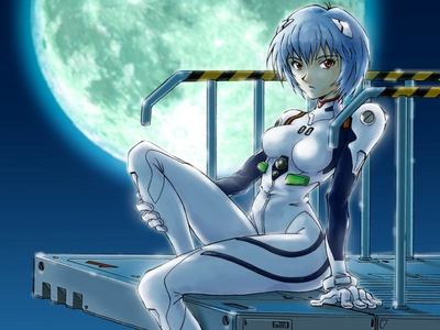 Ayanami Rei from Neon Genesis Evangelion