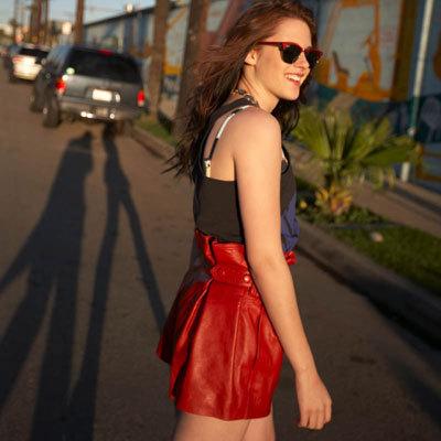 Kristen with sunglasses :)