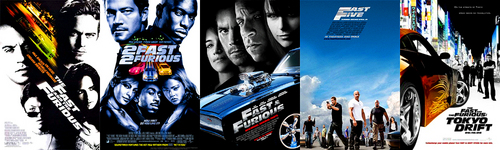 The events of Tokyo Drift happened after Fast & Furious and Fast Five.  The order of the series goes The Fast and the Furious, (2F2F Prelude), 2 Fast 2 Furious, (Los Bandoleros), Fast & Furious, Fast Five, Tokyo Drift.  I've heard that the sixth one will take place after Tokyo Drift.
