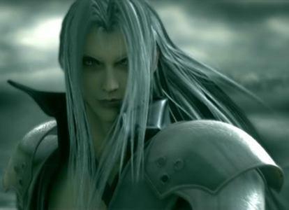 Sephiroth from Final fantasi VII Advant Children!