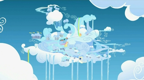Because Cloudsdale is the best vacation spot in Equestria.