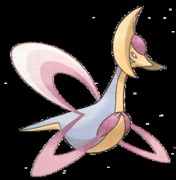 [b]Well, the first time I saw the show, (that was a bulan ago! XD) I thought that maybe if I went to New Jersey and get a cake from Buddy, I berkata I would get a Cresselia cake. Cresselia is a Pokemon, my favorit to be specific. So, it would basically be a cake shaped like Cresselia and the warna would have flavors of frosting. Pink~Strawberry Blue~Blueberry Yellow~Lemon She'd be in the shape of the pic below and she'd be covered in powered sugar to make her look like she has sparkles on her.[/b]