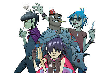 Gorillaz. Only one I have a medal in :P