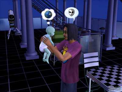What happens if u get abducted by aliens? Do ur sims ever come back