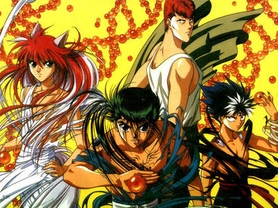 Yu Yu Hakusho is great for fighting and it has a great story line