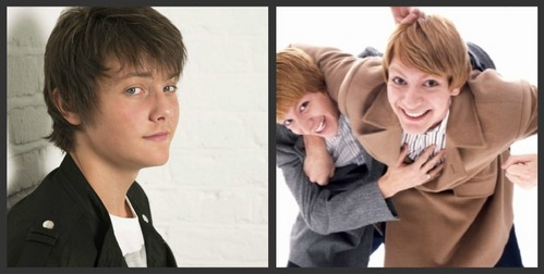 actors? well I like Tyger Drew-Honey and James & Oliver Phelps (Fred & George - Harry Potter)