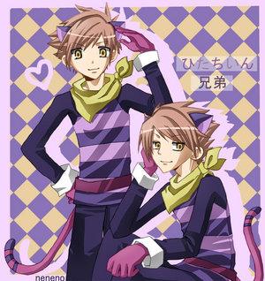 Hikaru and Kaoru from Ouran High School Host Club :D
