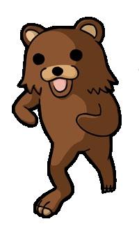 No! Pedo Bear's always lurking. O_O...<_<...>_>