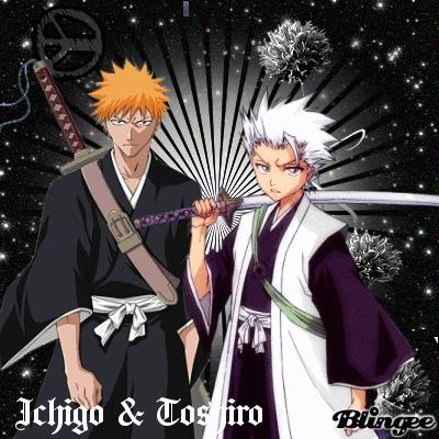 Ichigo And Toshiro