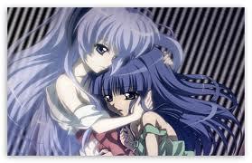 Hanyuu and Rika ( Higurashi no naku koro )