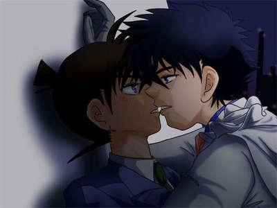 Shinichi Kudo and Kaito Kid!!!!!!