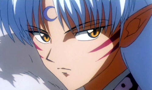 "It was Sesshoumaru from ""InuYasha"" <3 I still প্রণয় him <3"