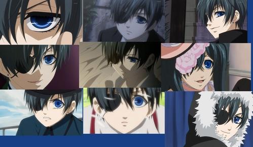 Ciel's Deep Blue eyes ♥