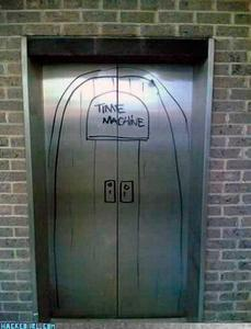 Welcome to the Time Machine. Please select a destination!