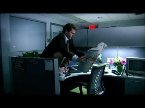 Mr Samberts from LIKE A BOSS, shitting on Debra's desk.