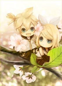 Rin and Len Vocaloid :3