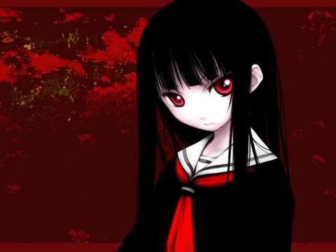 best anime character with red eyes and black hair - Anime ...