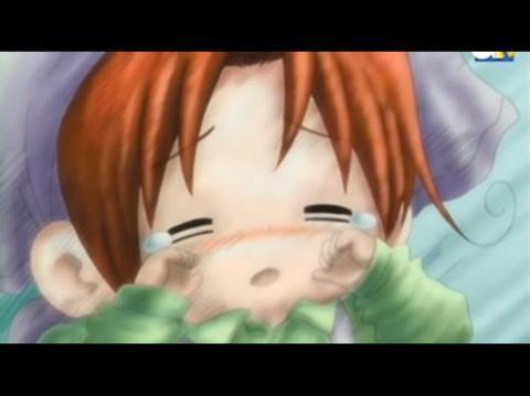 Awwh poor Chibitalia :(