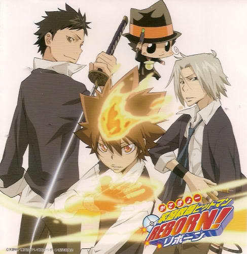 1. Katekyo Hitman Reborn! 2. Detective Conan 3. Keroro Gunso 4. Konjiki no Gash Bell!