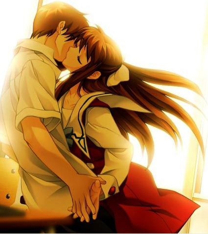 Kyou and Tohru from Fruits Basket