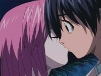 Lucy and Khota from Elfen Lied