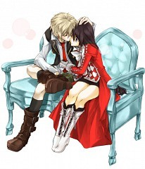 Oz-sama and Alice B-Rabbit >w< O__O *nosebleed*
