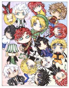 Naruto, 火影忍者 shippuden, Yu Yu Hakusho, Fullmetal Alchemist, Fullmetal Alchemist Brotherhood, Bleach, Steel 天使 Kurumi, Excel Saga (tht ones really random), Inuyasha, Dragon Ball Z, Sailor Moon, Tokyo Mew Mew...those are some tht i kno of