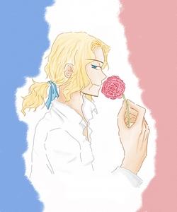 France, from Axis Powers Hetalia<3