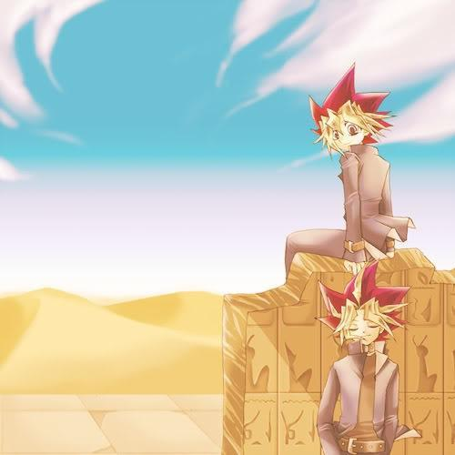 So I would stay that my Marty-Stu would be the Pharaoh Atem. So he's handsome, he's got control/king of the shadow realm, he's smart enough to out wit his enemies, definitely has a tragic past with the whole spirit in a 5,000 বছর old item, and of course he has a অনুরাগী club... I mean his is somewhat a celebrity. (even if he is using Yugi's body) That's also my reasoning as to why I প্রণয় Yugi tons more... there is nothing better than a flawed character!