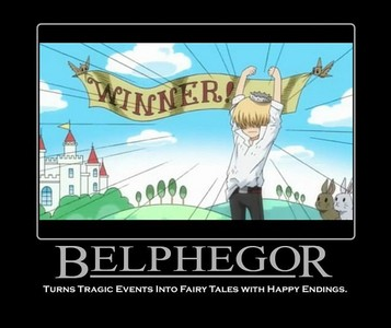 Belphegor from Katekyo Hitman Reborn! (I wasn't able to get a close up of his kid self but I think it's still cute)