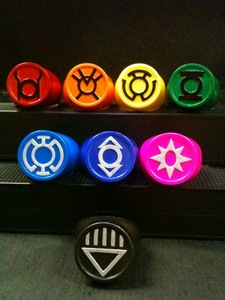 All the geeks need rings like the Lanterns! Then we would be able to rule the world with our geekness.