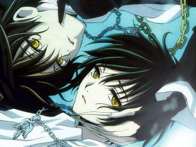 Kamui and Subaru the vampire twins from Tsubasa Chronicles