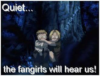 Fangirls are scary. Edward & Alphonse (when they were younger)