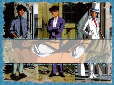 The सूची is long but here's my चोटी, शीर्ष three from Case Closed. From Left-Right, Left-Heiji Hattori, Middle-Shinichi Kudo, End- Kaito Kid!!!!!!!