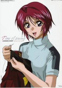 Lunamaria Hawke from Gundam Seed Destiny
