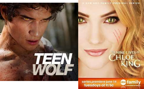 Yes. The Nine Lives of Chloe King && Teen 늑대