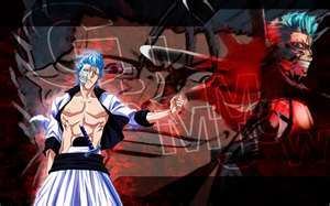 grimmjow from bleach