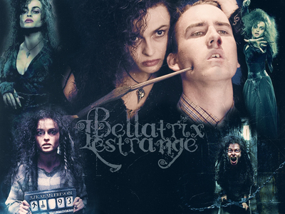 Harry Potter Especially Bellatrix (Helena Bonham Carter) <3