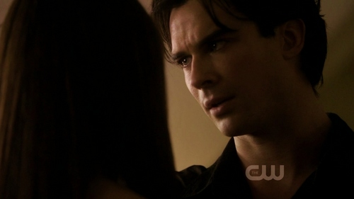 "There are wayyy too many favori quotes-Damon has the best lines. Some of my faves are already listed but my number one is this: From Rose. 2:8 ""I l'amour you, Elena. And it's because I l'amour you, I can't be selfish with you. Why toi can't know this. I don't deserve you, but my brother does...I wish toi shouldn't have to forget this, but toi do."" ...Then ""No, Elena. I won't go to your bedroom with you!"" -'Can he read minds?' ""No, that'd be creepy!"" ""I saw Elena today BTW, that means, par the way. She was at cheerleading practice. She looked so perky in her little short shorts...but I simmered down and didn't go near her."" ""Don't be obvious Stefan."""