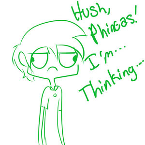Hush...I'm thinking....