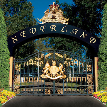 we'd stay at Neverland and party.