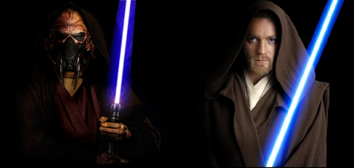 My favorite species is the Kel Dorians, I know they are not pretty people but i love their physical appearance.  Then, Obi-Wan Kenobi is favorite Jedi, with Yoda and Plo Koon.