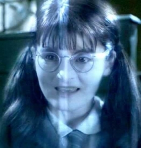 Yes, I really did like Moaning Myrtle! ^^