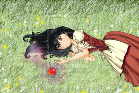 kagome as snow white