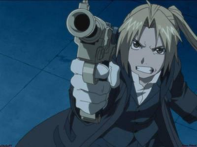 This work Edward Elric from fma