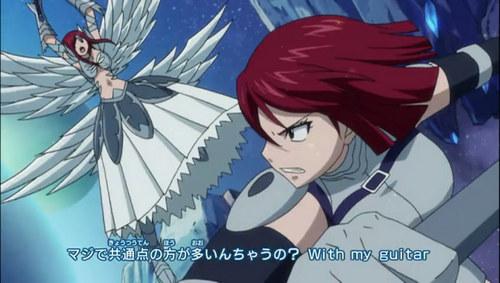 Fairy tail erza vs erza <3 <3